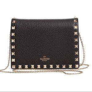 NWT Valentino Garavani  Rockstud Mini Bag Black